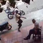 【衝撃映像】たった1台のスマホを盗むために人を殺す強盗。