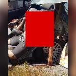 【閲覧注意】事故現場で撮影された、夢に見そうな女性の死体・・・。