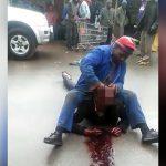 【閲覧注意】殺した男性の目に指を突っ込むイカれた男。