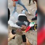 【閲覧注意】催涙弾を頭に埋め込まれて死んでしまった男性。