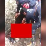 【閲覧注意】鉱山労働者、岩に潰されてグチャグチャになってしまう・・・。