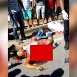 【閲覧注意】脇腹から内臓が飛び出した状態で死亡した男性のグロ動画。