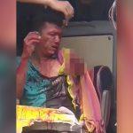 【閲覧注意】バスの運転手、事故で左腕が肩から切断されてしまったグロ動画。