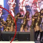【衝撃映像】アイドルオタクさん、ライブ中に推しメンを連れ去ろうとしてしまう・・・。