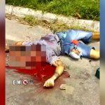 【閲覧注意】バイク事故で死亡した男性、頭がグッチャグチャのグロ動画。