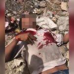 【閲覧注意】ライバルギャングの顔を自動小銃で撃ちまくって殺すグロ動画。
