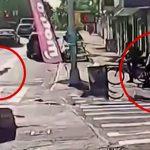 【衝撃映像】幼い娘と手をつないで歩いていた男性、射殺されてしまう・・・。