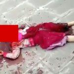 【閲覧注意】地元の地主に抗議した女性、首を切断されて殺されてしまったグロ動画。