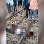 【閲覧注意】電車に首と脚を切断されて死亡した男性のグロ動画。