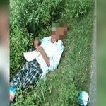 【閲覧注意】なぜか頭を潰されて死亡した男性の死体映像。