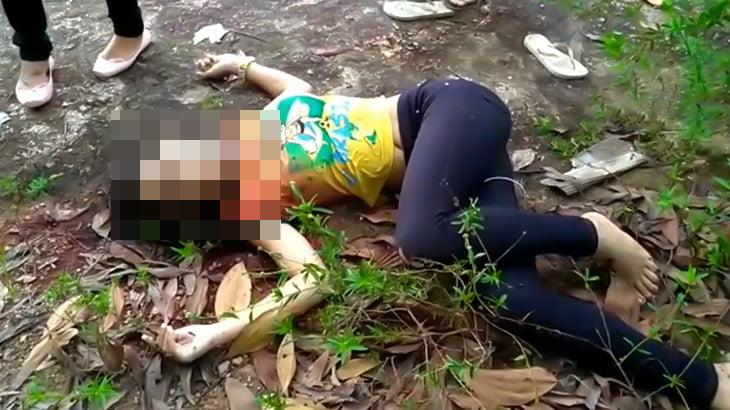 【閲覧注意】ギャングに殺されて死体となって発見された女の子の映像。
