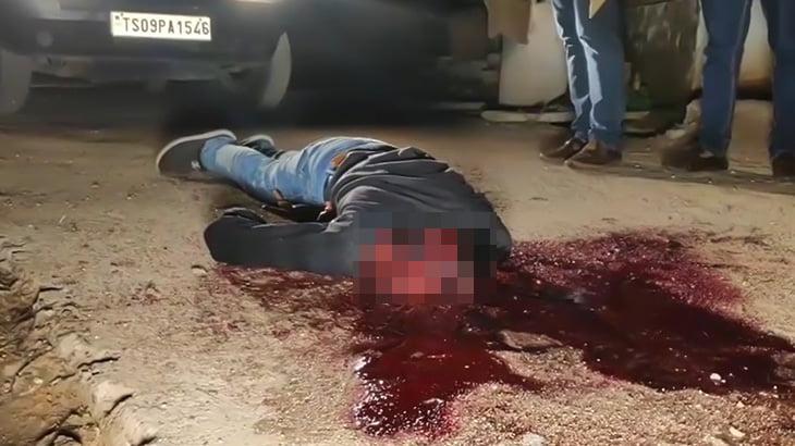 【閲覧注意】顔を切断されて殺された男性のグロ動画。