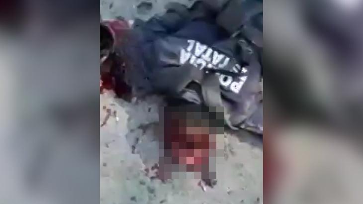 【閲覧注意】殺した警察官の死体を撮影するギャングの映像。