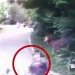 【衝撃映像】飛び降り自殺した男、下にいた女性とその子供を殺してしまう・・・。