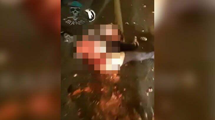 【閲覧注意】10人が死亡した事故現場、地獄絵図すぎる映像・・・。