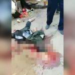 【閲覧注意】トラックの暴走で多くの人が死んでしまった現場の地獄絵図映像。