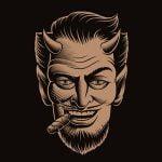 悪魔になりたくて顔を改造し続けた男の映像。