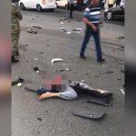 【閲覧注意】事故で胴体真っ二つになってしまった死体映像。