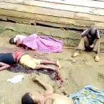 【閲覧注意】テロ組織に殺された村人たちの死体映像。