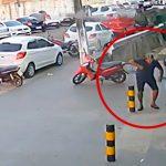 ヘッドショットされて殺された男性、どこから撃たれたのかまったく分からない映像。