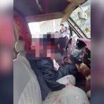 【閲覧注意】ヘッドショットされて頭が割れてしまった男性の死体映像。