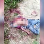 【閲覧注意】頭を切断され内臓をえぐり出されて殺された男性の死体映像。