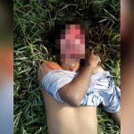 【閲覧注意】なぜか顔の皮膚が剥がされた男性の死体映像。
