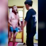 2人の男性の喧嘩映像だけど理由とかどうでもよくなる映像。