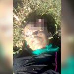 【閲覧注意】ヘッドショットで頭を割られてしまった男性の死体映像。