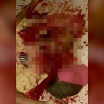 【閲覧注意】顔をグッチャグチャにされて殺された男の死体映像。