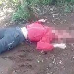 【閲覧注意】石で頭を潰されて殺された男性の死体映像。