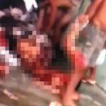 【閲覧注意】刑務所内の暴動で身体をバラバラにされた囚人たちの死体映像。