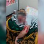 【閲覧注意】自宅で寝ていた男性が頭を撃たれて殺される映像。