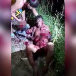 【閲覧注意】泥棒の男が両手を切断されてしまったグロ動画。