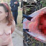 【閲覧注意】イカれた母親が13歳の娘の首を切断して殺してしまったグロ画像。