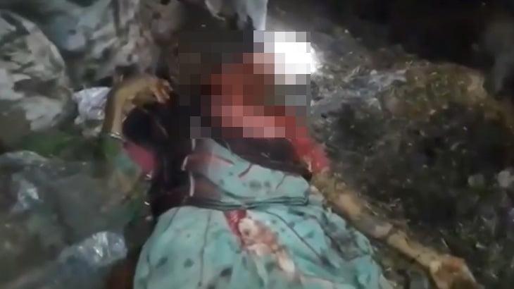 【閲覧注意】サイコパスな彼氏に顔をズタズタにされて殺された女性の映像。