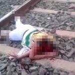 【閲覧注意】電車に轢かれて頭を切断されてしまった女性のグロ動画。