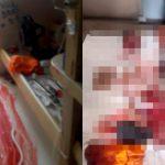 【閲覧注意】刑務所内で手首と手足と首を切断された男性の死体画像。