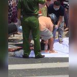 【閲覧注意】トラックのタイヤに潰されて頭が破裂してしまった女性のグロ動画。