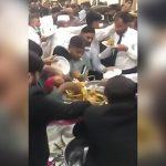 【動画】パキスタンでディナーパーティーをバイキング形式にするとこうなる。