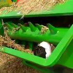 【閲覧注意】農業機械に巻き込まれて死んでしまった男性の映像。