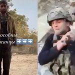 【閲覧注意】アルメニア人捕虜が殺されて動物のように木の棒で運ばれる映像。