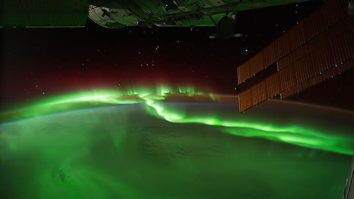 宇宙ステーションから地球を撮影した超美しいタイムラプス映像。