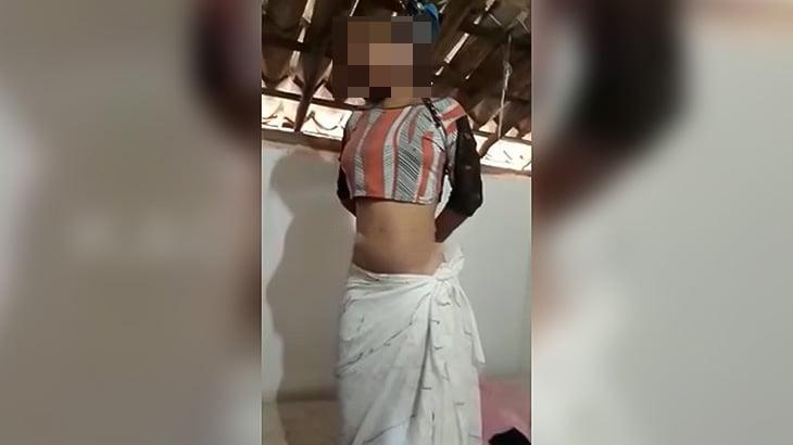 【閲覧注意】自宅で首を吊って状態で発見された女性の死体映像。