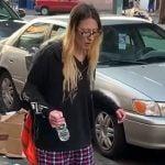 ドラッグで意識朦朧とする女性を撮影した映像。
