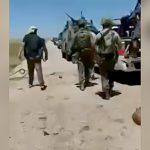 目の前を歩いていた仲間が地雷で吹き飛ばされる映像。