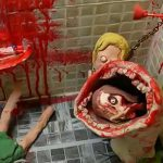 【微閲覧注意】トイレの化け物にパパとママが食われてしまうクレイアニメ。