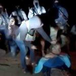 【閲覧注意】メキシコの麻薬カルテルが警察官の首を切断するグロ動画