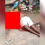 【閲覧注意】ショットガンで頭を吹き飛ばされた男の死体映像。