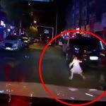 【動画】飛び出した小さな女の子を轢いてしまう車載カメラ映像